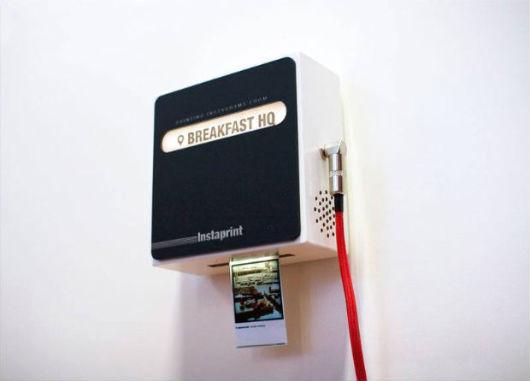 Студия Breakfast разработала мини-принтер для приложения Instagram. Изображение № 3.