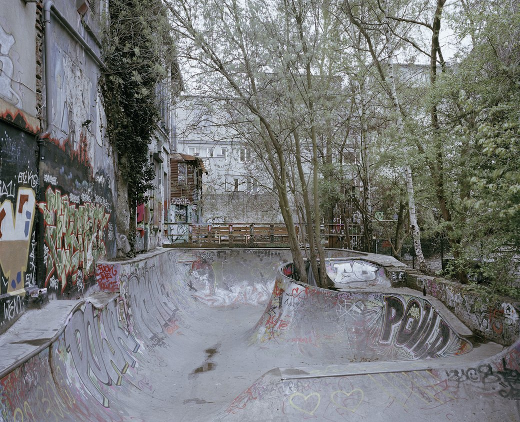 Фотопроект: Увядающая культура самодельных скейт-парков. Изображение № 3.