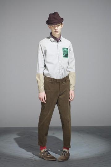 Японская марка Undercover выпустила лукбук осенней коллекции одежды. Изображение № 23.