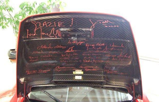 Два автомобиля Михаэля Шумахера выставлены на аукцион. Изображение № 6.