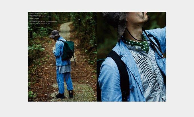 Марка Nepenthes опубликовала лукбук новой коллекции Needles. Изображение № 14.