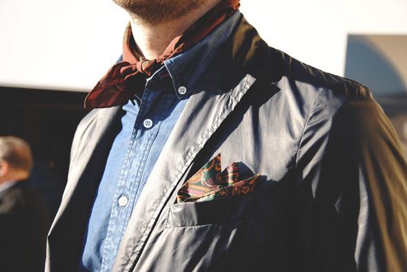 Детали: Репортаж с выставки мужской одежды Pitti Uomo. День второй. Изображение № 29.