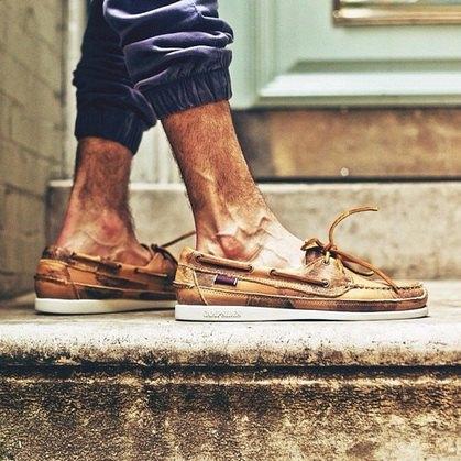 Дизайнер Ронни Фиг и марка Sebago представили совместную модель обуви. Изображение № 5.