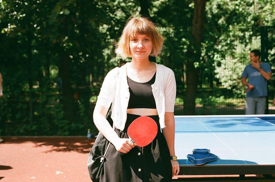 Фоторепортаж: Женский турнир по пинг-понгу в Нескучном саду. Изображение № 9.