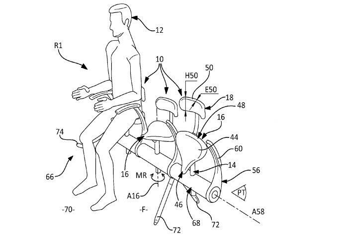 Компания Airbus запатентует неудобные пассажирские сиденья. Изображение № 1.