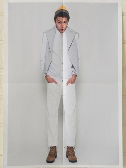 Японская марка Discovered выпустила лукбук весенней коллекции одежды. Изображение № 16.
