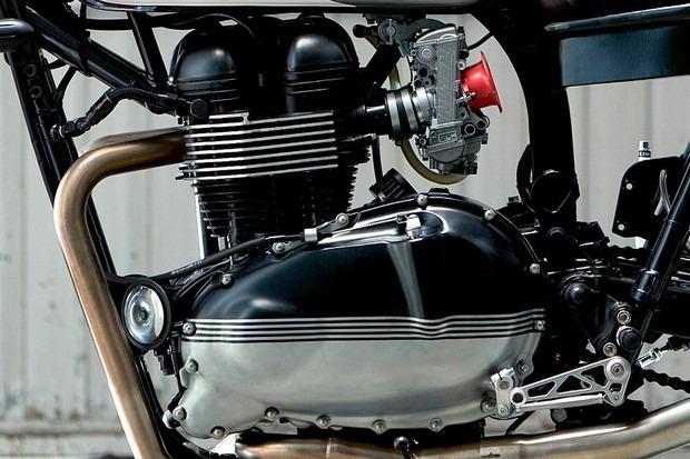 Испанская мастерская Kiddo Motors представила кастом модели Triumph Thruxton. Изображение № 7.