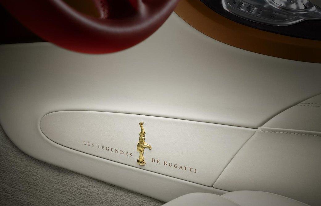 Bugatti представила отделанную золотом спецификацию Veyron Grand Sport Vitesse. Изображение № 7.