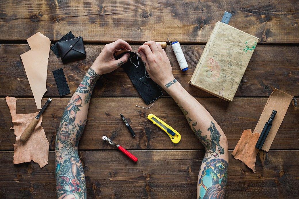Обладатели «рукавов» рассказывают о своих татуировках. Изображение № 2.
