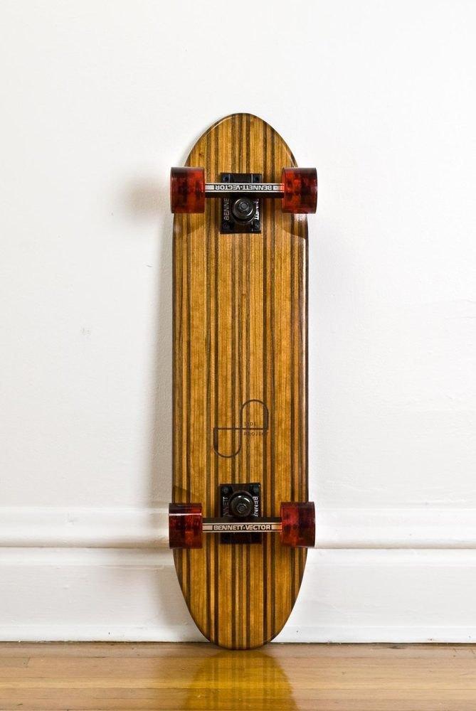 Дизайнер Джейк Эшелман выпустил коллекцию скейтбордов ручной работы. Изображение № 4.