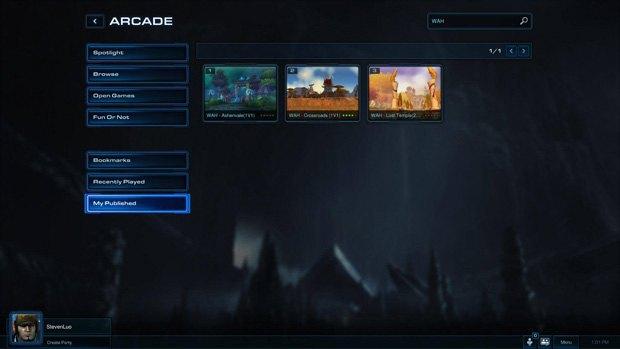 Геймер создал игру Warcraft IV на движке StarCraft II . Изображение № 2.