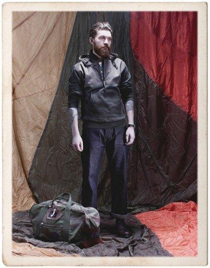 Марка Nigel Cabourn опубликовала лукбук весенней коллекции одежды. Изображение № 2.