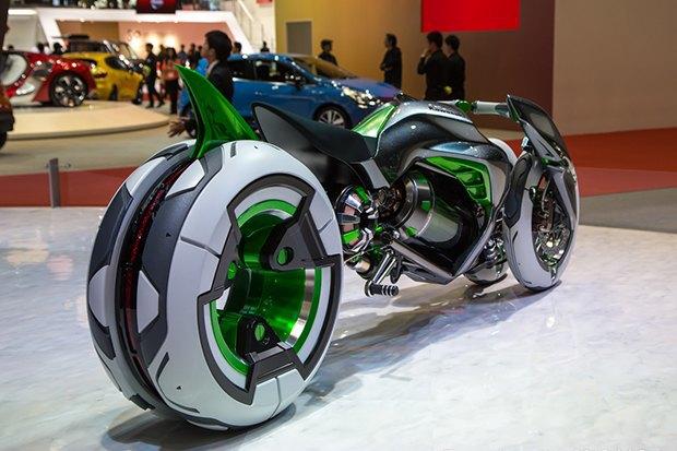 Kawasaki представили новый мотоцикл-трансформер. Изображение № 5.