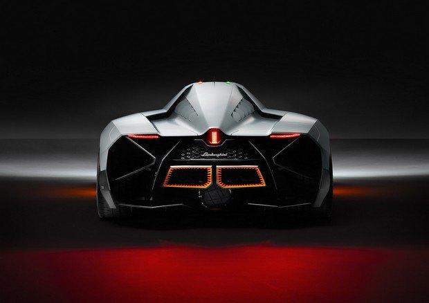 Lamborghini представили концепт одноместного суперкара Egoista. Изображение № 6.