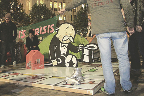 10 последних проектов уличного художника Бэнкси. Изображение № 8.