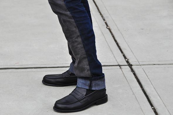 Изображение 13. Шарфы, клатчи, клетчатые пиджаки и подвернутые джинсы.. Изображение № 67.