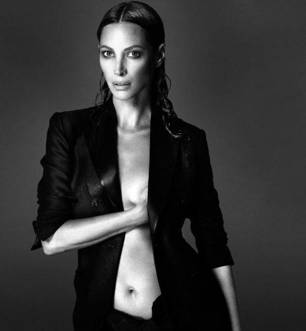 Аня Рубик, Наоми Кэмпбелл и другие известные модели разделись для Interview Magazine. Изображение № 4.