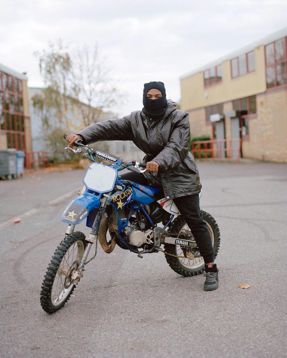 Фотопроект: Лондонские гопники и их мотоциклы. Изображение № 1.