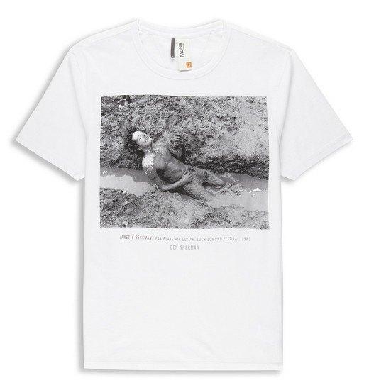 Марка Ben Sherman и музыкальный фотограф Джанет Бекман выпустили совместную коллекцию футболок. Изображение № 9.