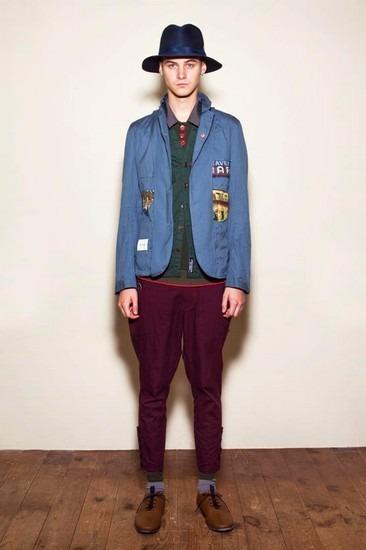 Марка Undercover опубликовала лукбук весенней коллекции одежды. Изображение № 1.