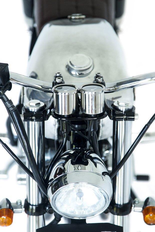 Мастерская Deus Ex Machina собрала новый мотоцикл на базе Yamaha SR400. Изображение № 9.