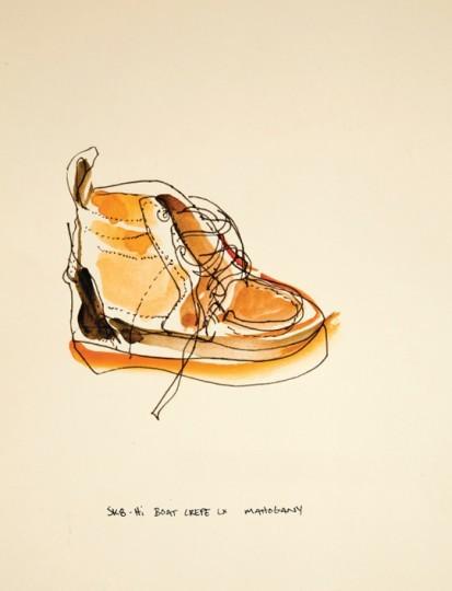 Иллюстрированный лукбук весенней коллекции марки Vans Vault. Изображение № 6.