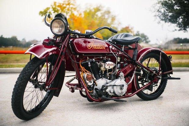 На аукционе Bonhams выставлен на продажу мотоцикл Стива Маккуина Indian Big Chief 1923 года. Изображение № 6.