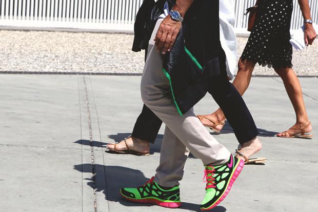 Детали: Репортаж с выставки мужской одежды Pitti Uomo. День первый. Изображение № 6.
