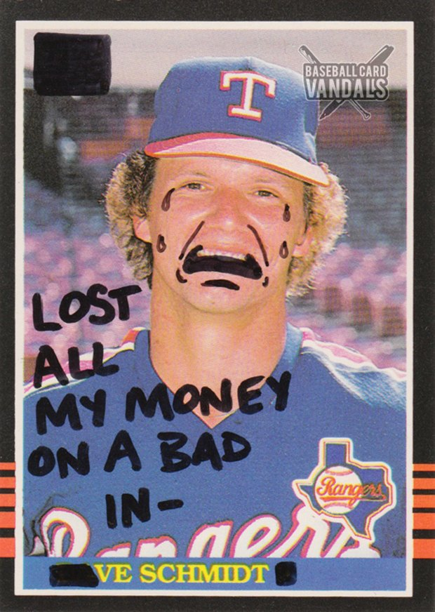 Baseball Card Vandals: Художники иронизируют над спортивными коллекционными карточками. Изображение № 31.
