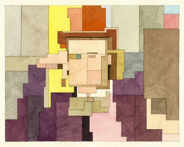 Адам Листер: Иконы поп-культуры в 8-битной живописи. Изображение № 13.