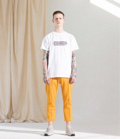 Марки Bedwin & The Heartbreakers и Adidas Originals выпустили совместную коллекцию одежды. Изображение № 8.