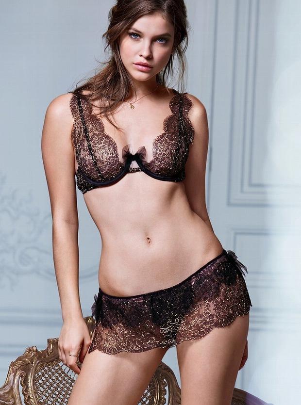 Модели Барбара Палвин и Даутцен Крус снялись в рекламе нижнего белья Victoria's Secret. Изображение № 4.