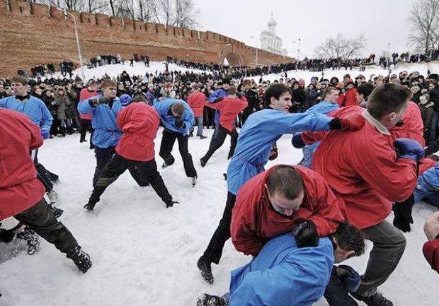 Русские кулачные бои: Главное мужское развлечение Масленицы. Изображение № 6.