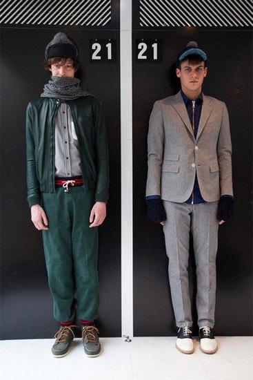 Марка Band Of Outsiders опубликовала лукбук осенней коллекции одежды. Изображение № 5.