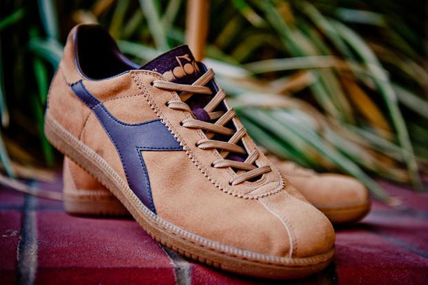 Итальянская марка Diadora выпустила весеннюю коллекцию кроссовок. Изображение № 7.