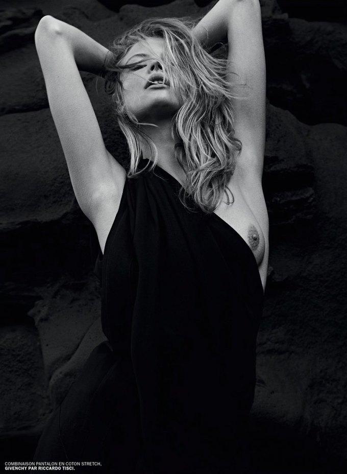 Марк Сегал сфотографировал польскую модель Магдалену Фраковяк для нового номера журнала Lui. Изображение № 2.