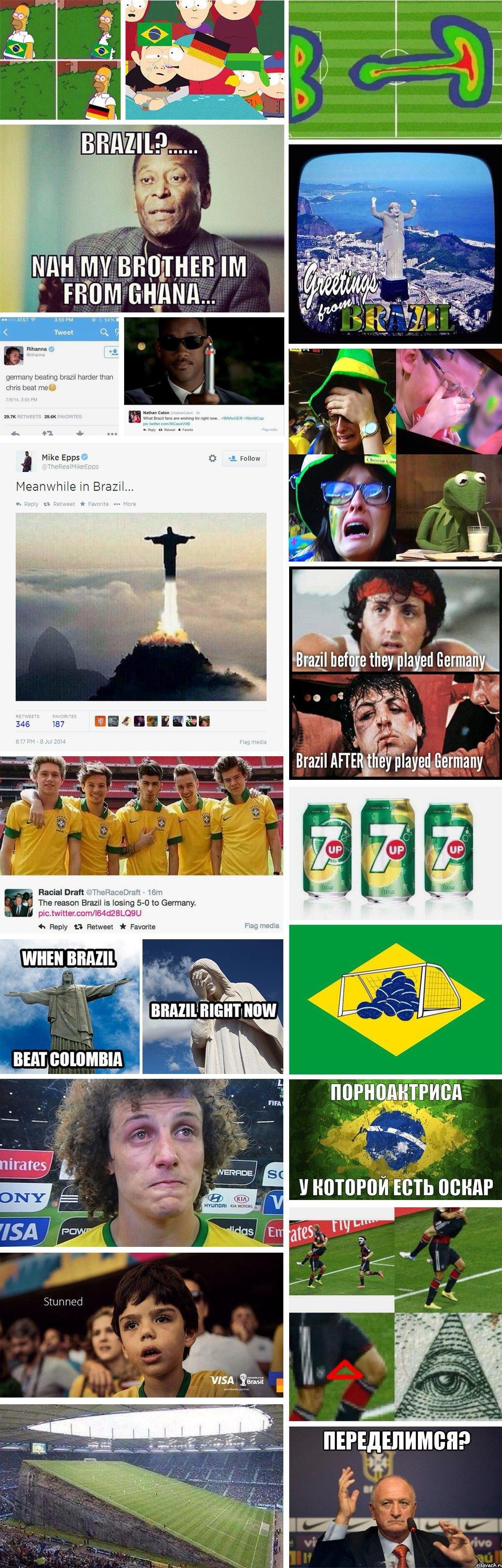 Как мир отреагировал на провал Бразилии. Изображение № 1.