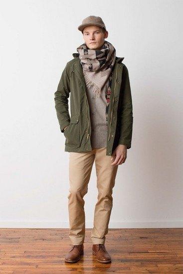 Марка Pendleton выпустила лукбук осенней коллекции одежды. Изображение № 3.
