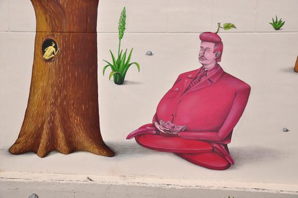Скетчбук: Участники граффити-дуэта из Киева Interesni Kazki рассказывают о своих лучших работах. Изображение № 38.