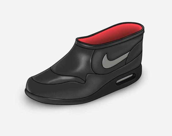 Зимние галоши по мотивам любимых кроссовок. Изображение № 1.