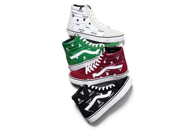 Марки Vans, Supreme и  Playboy выпустили совместную коллекцию обуви. Изображение № 2.
