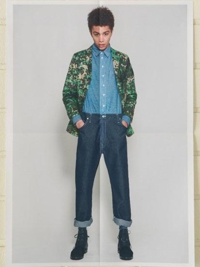 Японская марка Discovered выпустила лукбук весенней коллекции одежды. Изображение № 15.
