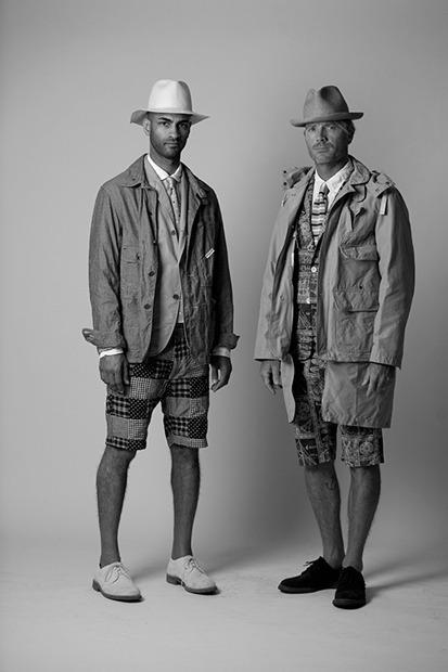 Марка Engineered Garments представила новую коллекцию на весну будущего года. Изображение № 12.