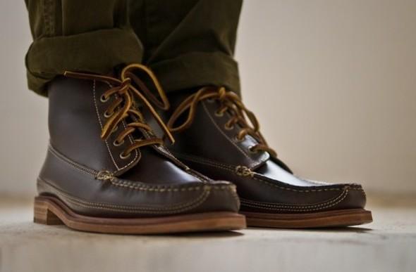 Весенняя коллекция обуви марки Oak Street Bootmakers. Изображение № 2.