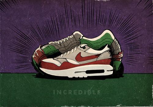 Книга иллюстраций, посвящённая кроссовкам Nike Air Max. Изображение № 5.