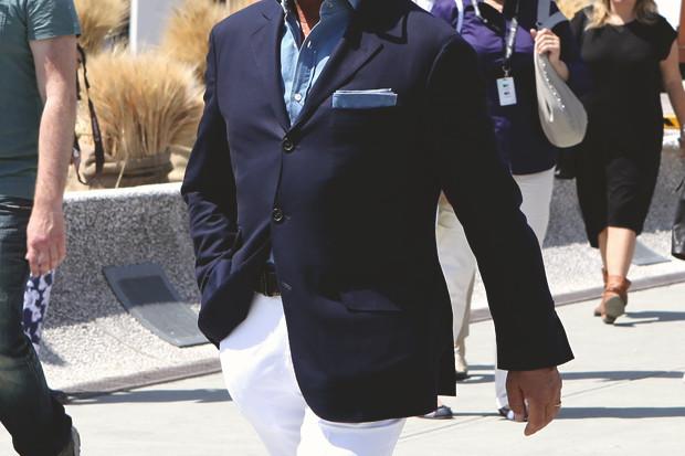 Детали: Репортаж с выставки мужской одежды Pitti Uomo. День первый. Изображение № 1.