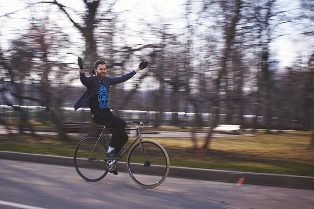 Детали: Фоторепортаж с открытия велосезона Fixed Gear Moscow. Изображение №52.
