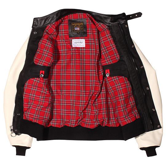Изображение 2. Компания Vanson создала гибрид университетской и мотоциклетной курток.. Изображение № 2.