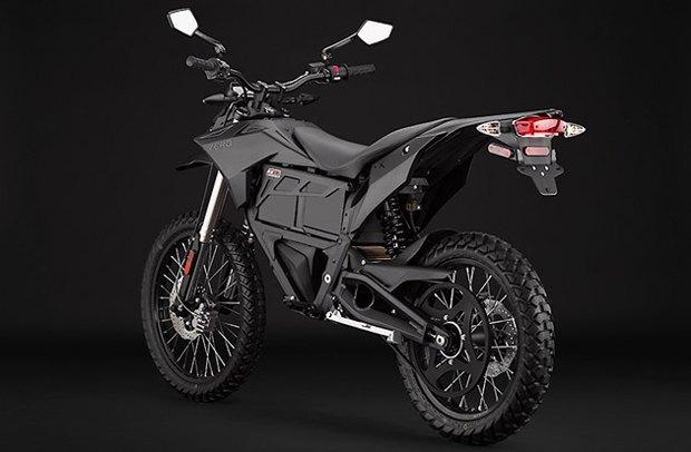 Компания Zero Motorcycles анонсировала новый электромотоцикл. Изображение № 1.