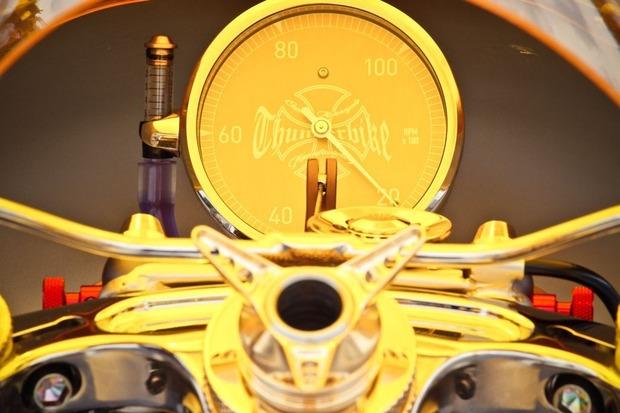 Мотоцикл немецкой мастерской Thunderbike победил в чемпионате мира по кастомайзингу. Изображение № 10.